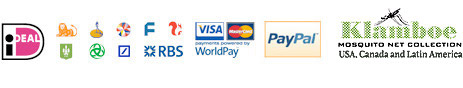 Secure and quick payments via iDEAL, WorldPay and PayPal